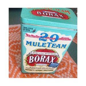 Vintage Borax Tin Canister